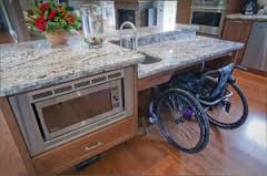 wheelchair kitchen